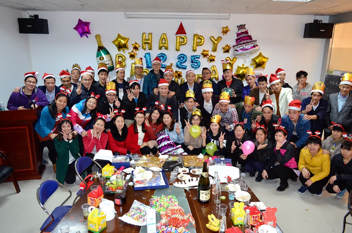 Xindun 2017 Christmas & Birthday Party