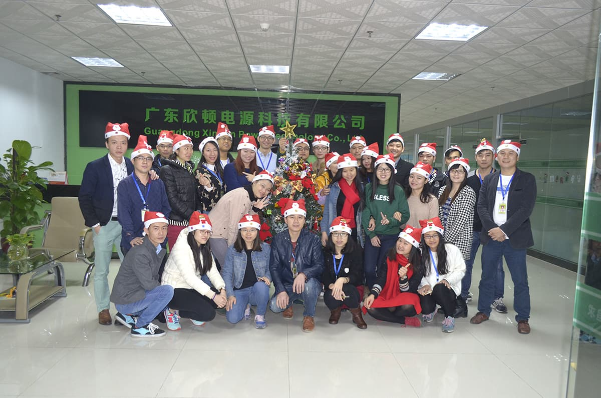 Xindun 2016 Christmas Party