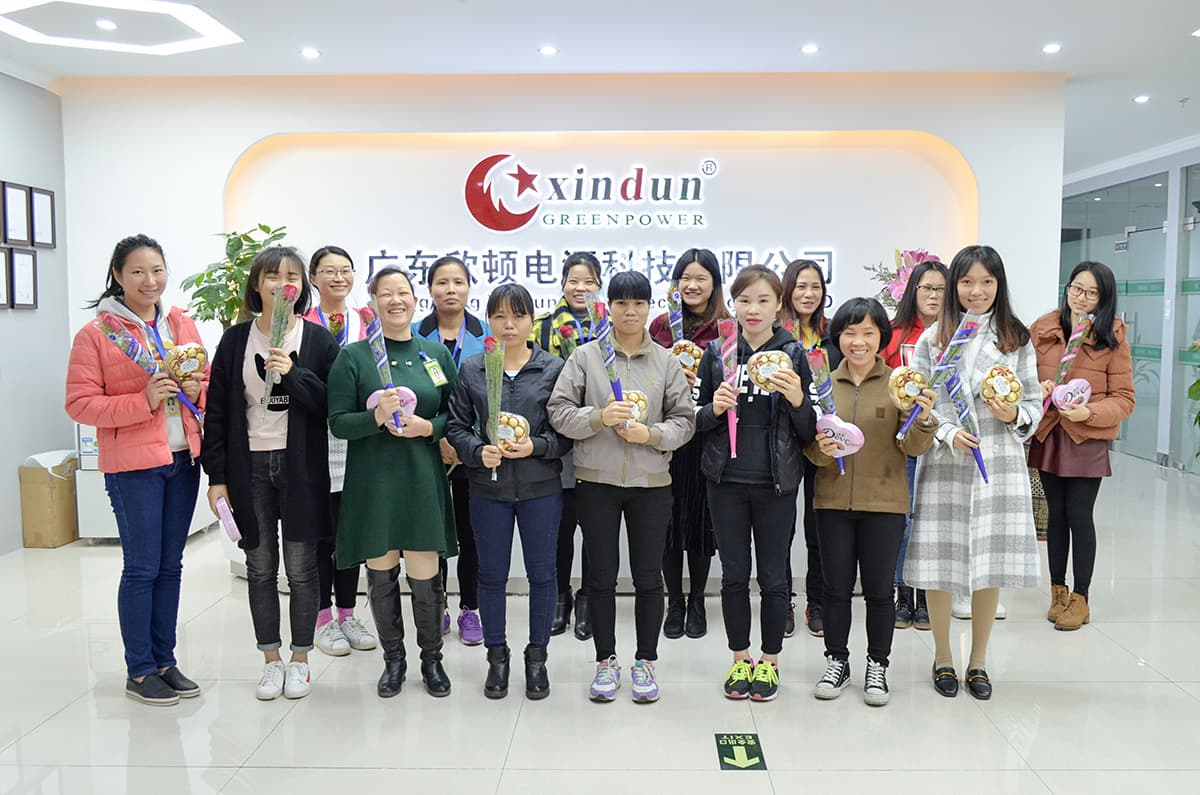 Xindun 2018 Women's Day