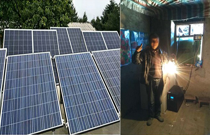PV Off-grid Power Generation System Case