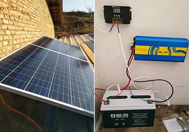 Off-grid photovoltaic system case