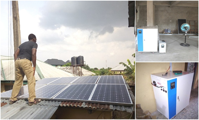 Application of TYN solar generator