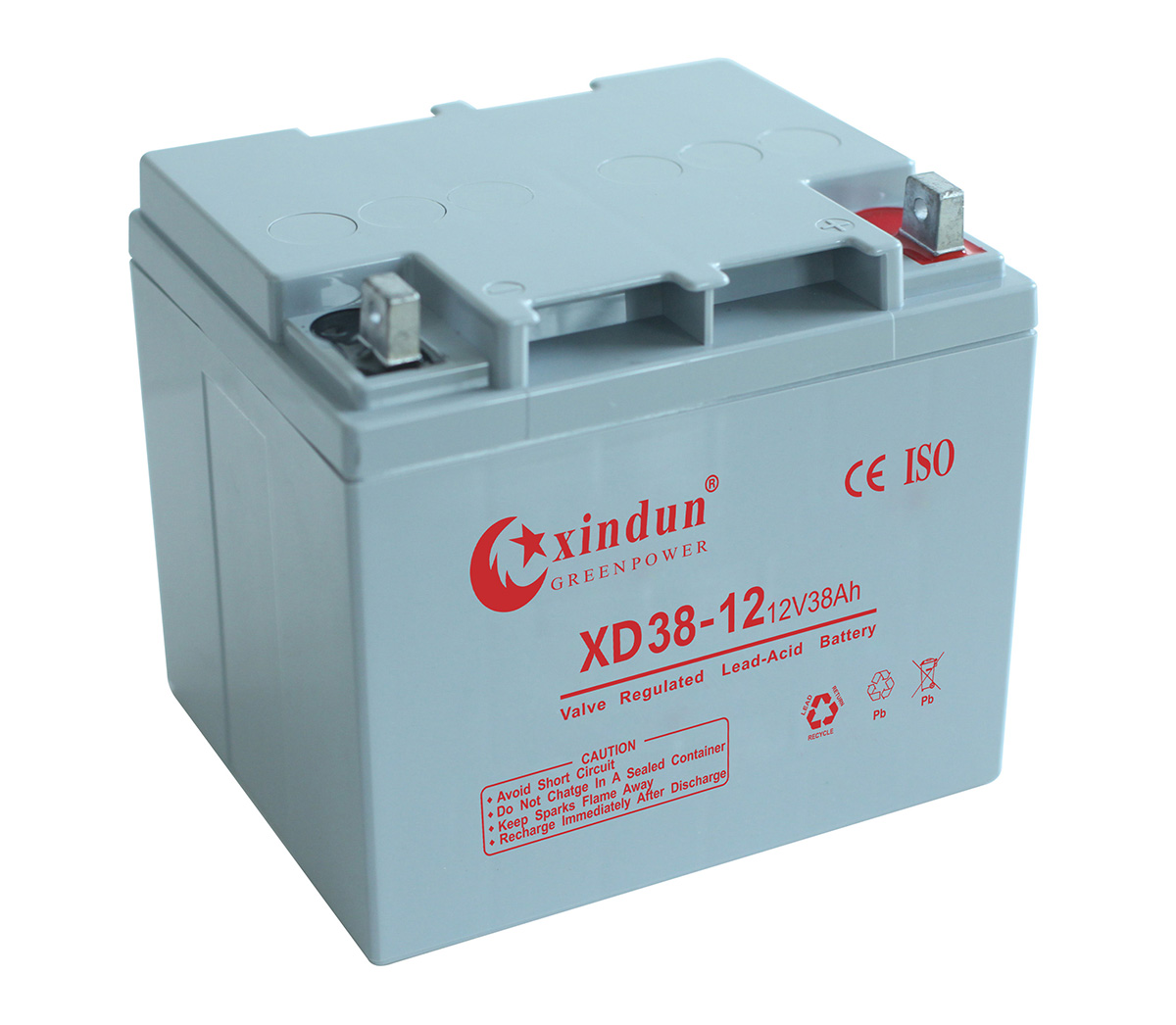 XD38-12 Battery (12V38Ah)