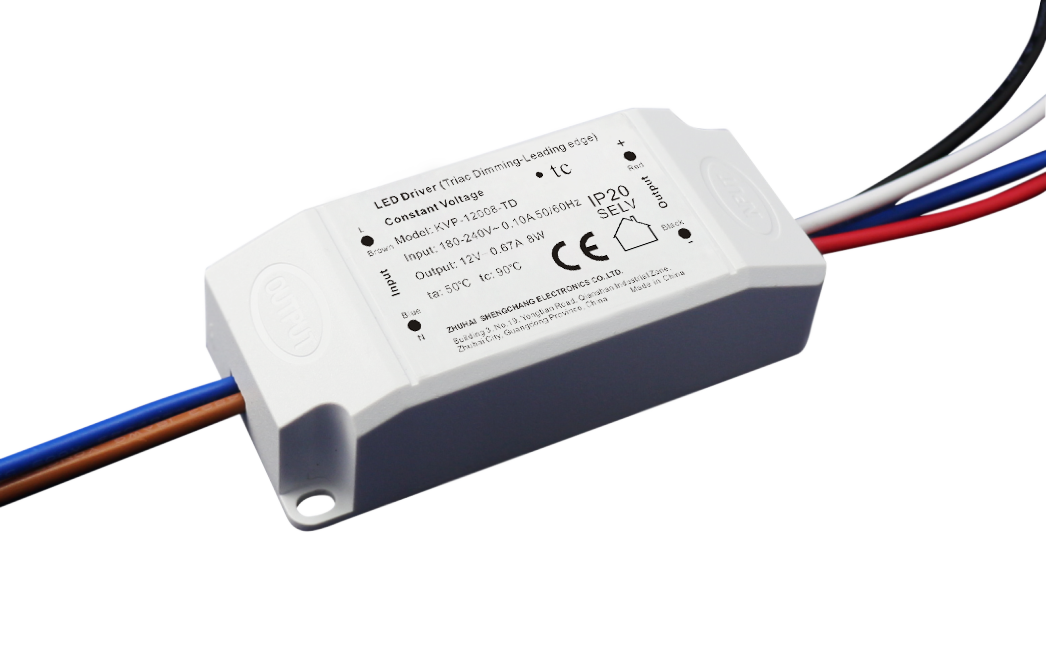 220VAC KVP series 8W constant voltage triac dimmable driver