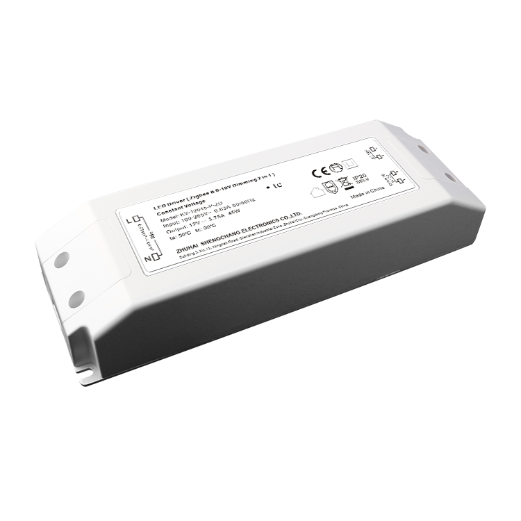 45W C.V. ZigBee/0-10V C.V. dimmable driver