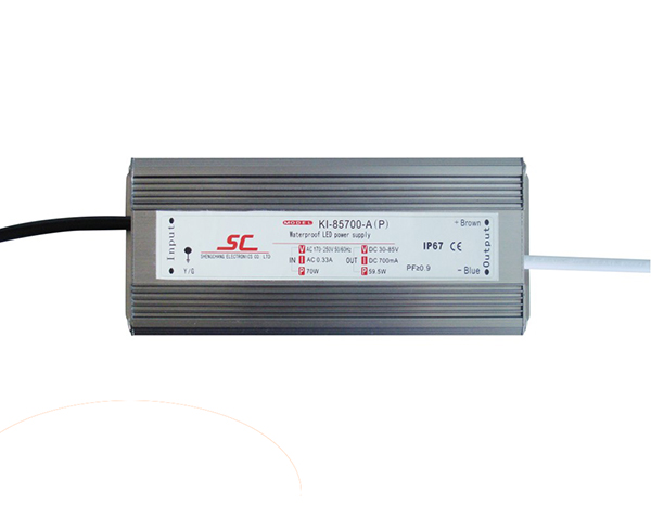 60W C.C. waterproof driver