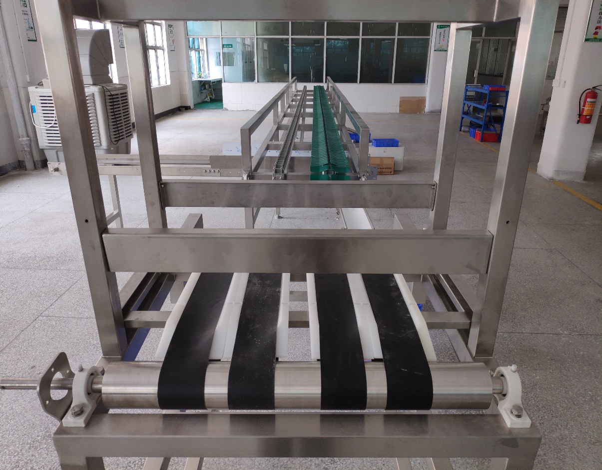 Agricultural product sorting line visual identification system