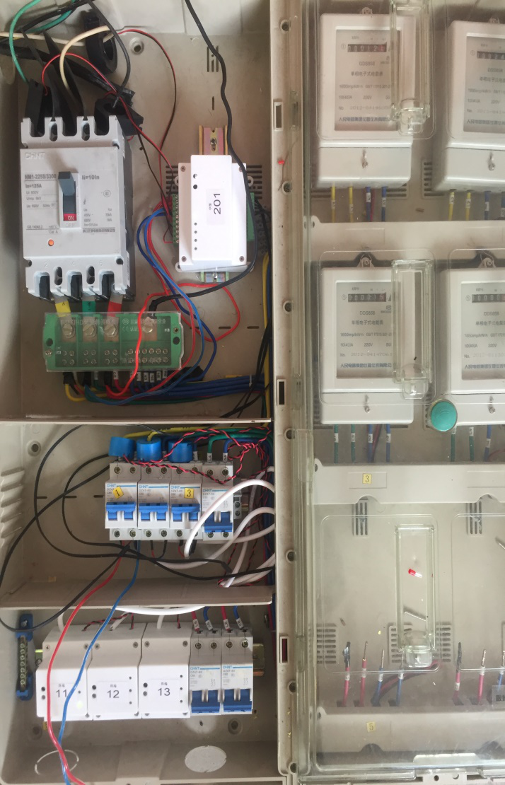 Grid power quality monitoring