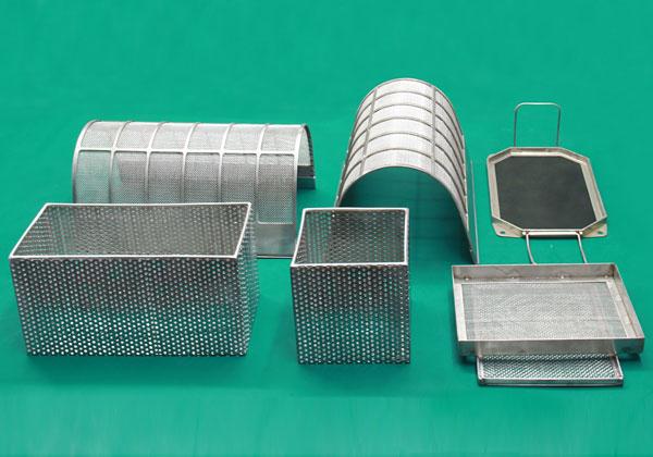不锈钢筛网(清洗筐)
