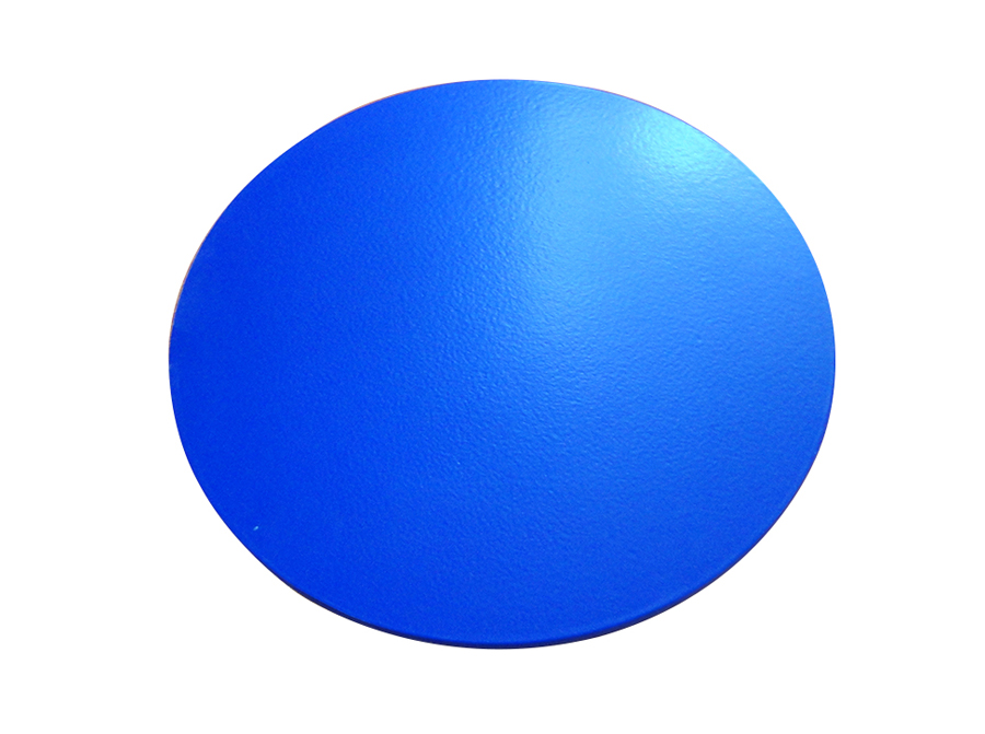 Glazed product-13 inches blue