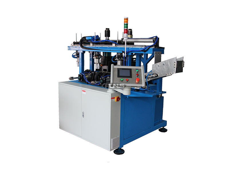 Filter pipe end preparation machines
