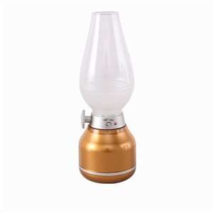 LED USB night light golden