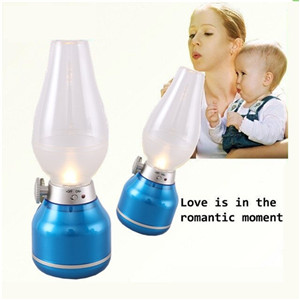 LED USB night light blue