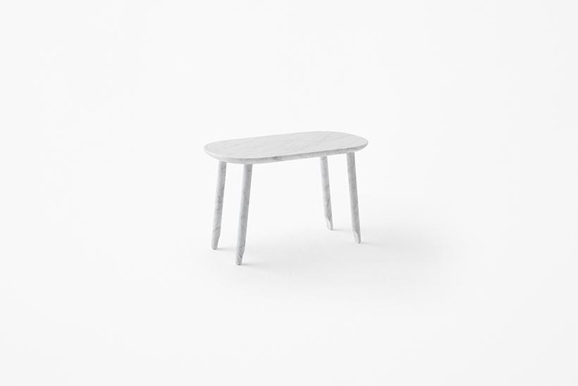 大理石侧桌