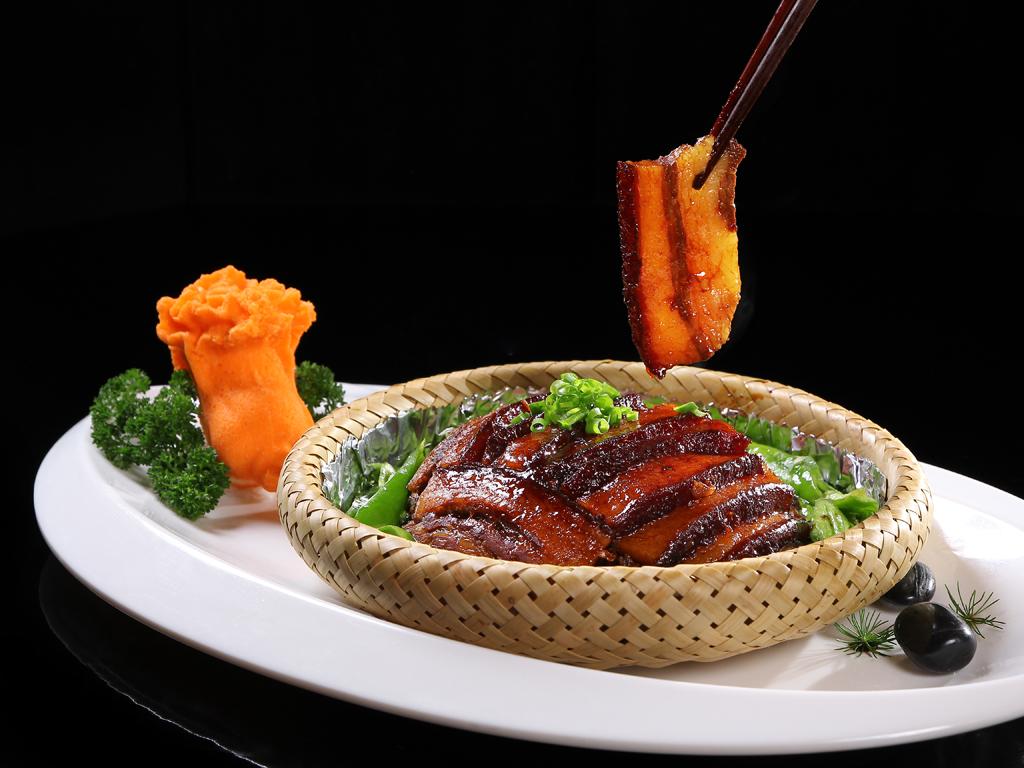 青椒梅菜扣肉