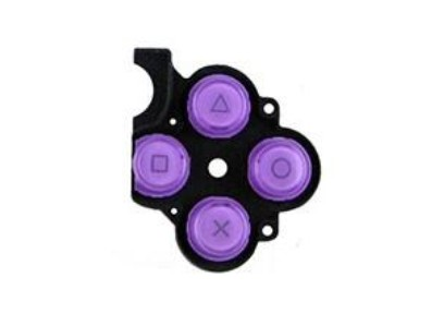PSP 3000 Button Rubber Purple