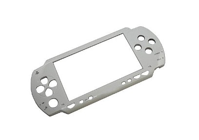 PSP 2000 Slim Faceplate Front Cover (White)