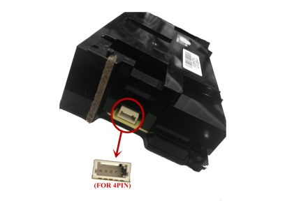 New 4PIN socket for PS4 power (change the line to 4PIN, common use ADP-240CR power