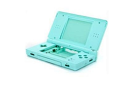NDSL Complete Housing Shell Case Ice blue
