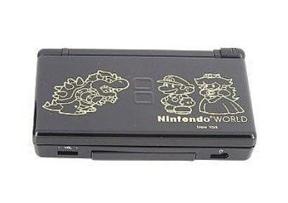 NDSL Complete Housing Shell Case Mario, Black