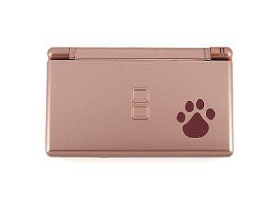 NDSL Complete Housing Shell Case Metallic Rose