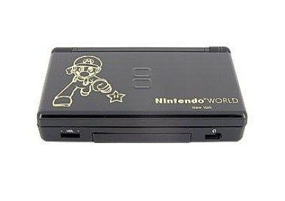 NDSL Complete Housing Shell Mario 1 (Black)