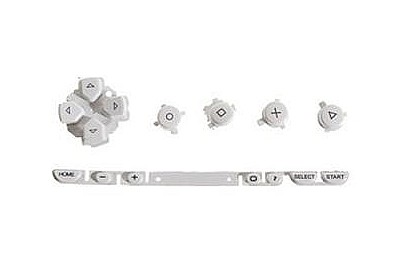 PSP 1000 Set Buttons (White)