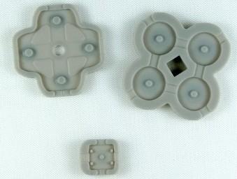 3DS XL Button Rubber Set