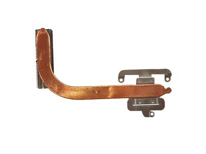 NS radiating copper pipe slice