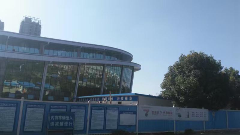 成都航空職業技術學校風雨操場 (1)