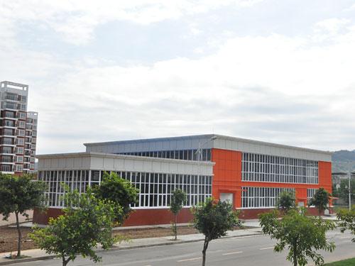 成都航空職業技術學院實訓樓基地工程2