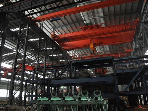 瀘州市城坤實業(集團)有限公司新建廠房工程2