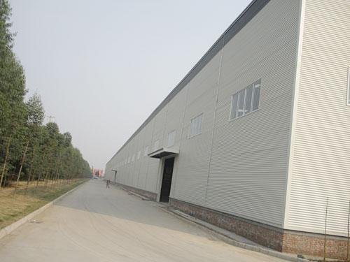 邛崍市天瀾木業鋼結構廠房工程1