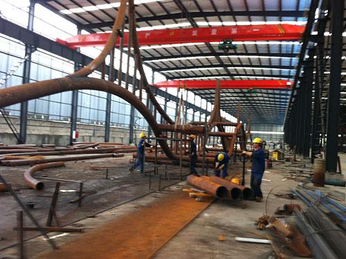 瑞海鋼結構加工廠1