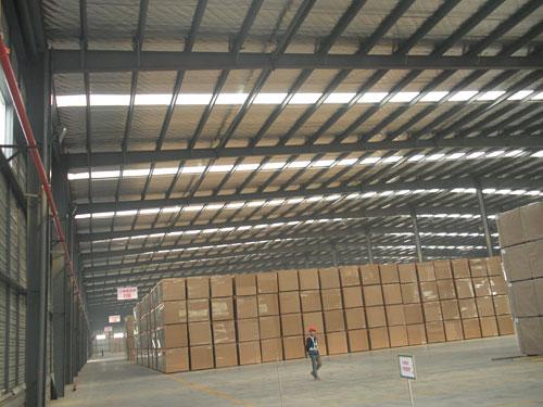 邛崍市天瀾木業鋼結構廠房工程2