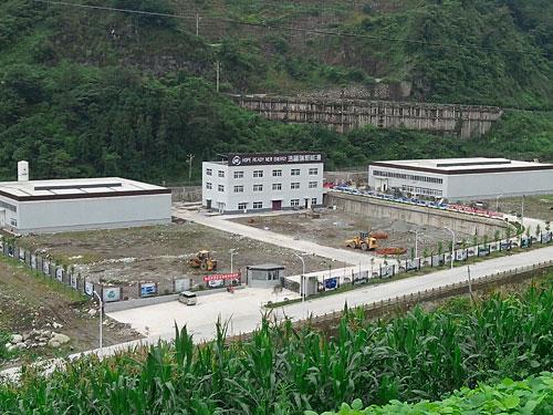 四川浩普瑞新能源材料有限公司鋰電正極材料工程生產廠房1