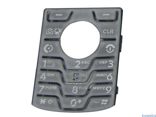 Plastic button for mobile