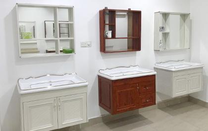 全鋁浴室柜效果