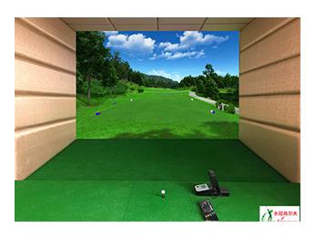 广东惠州格兰云天室内高尔夫项目