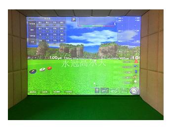 河南驻马店家用式室内高尔夫项目