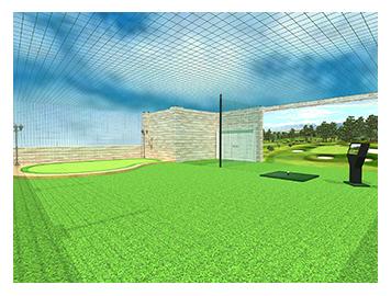 室外高尔夫模拟器