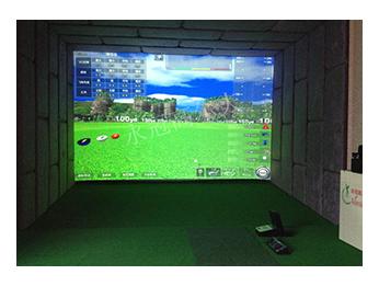 广东东莞南城某私人会所室内高尔夫项目二