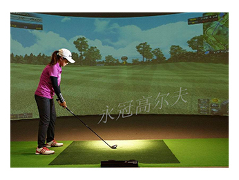 广东东莞永冠室内高尔夫学院项目二