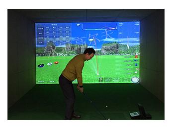河南洛阳高尔夫球协会室内高尔夫项目二
