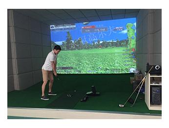 深圳某上市公司室内高尔夫项目