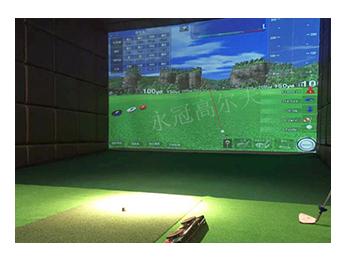 江苏泰州某化工集团室内高尔夫项目