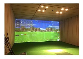 江西某建设集团中山分公司室内高尔夫项目