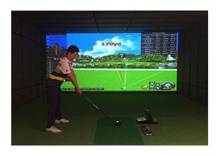 广东东莞天珺湾别墅区室内高尔夫项目
