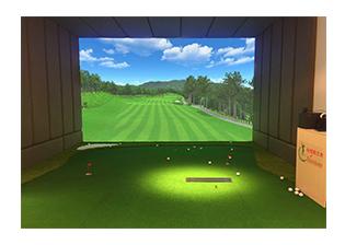 广东东莞虎门国际公馆别墅二期室内高尔夫项目