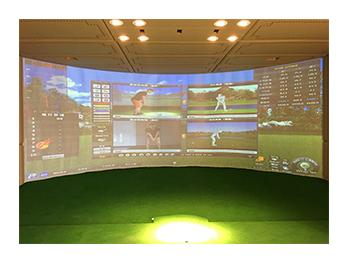 福建私人会所室内高尔夫项目